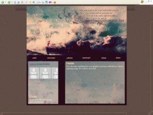 Gloomy clouds (DIV)