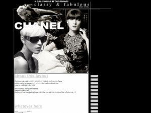 Chanel (Web Template) *resubmit