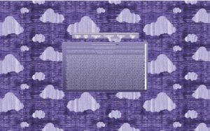 Tech Light Purple Clouds v1