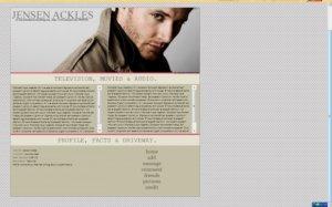 i. Jensen Ackles