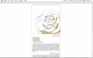 Rose (One Column)