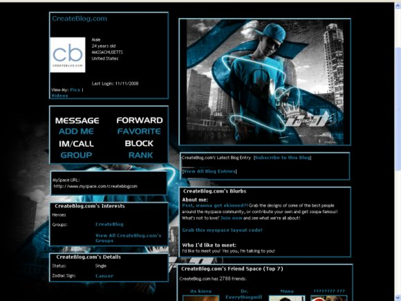 lil crazed myspace layouts createblog. Black Bedroom Furniture Sets. Home Design Ideas