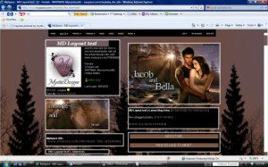 New Moon_Jacob and Bella