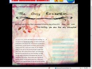the [o n l y] exception