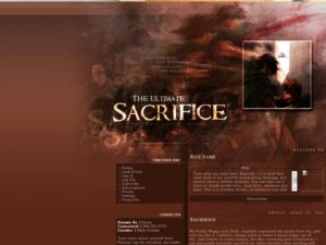(The Ultimate) Sacrifice